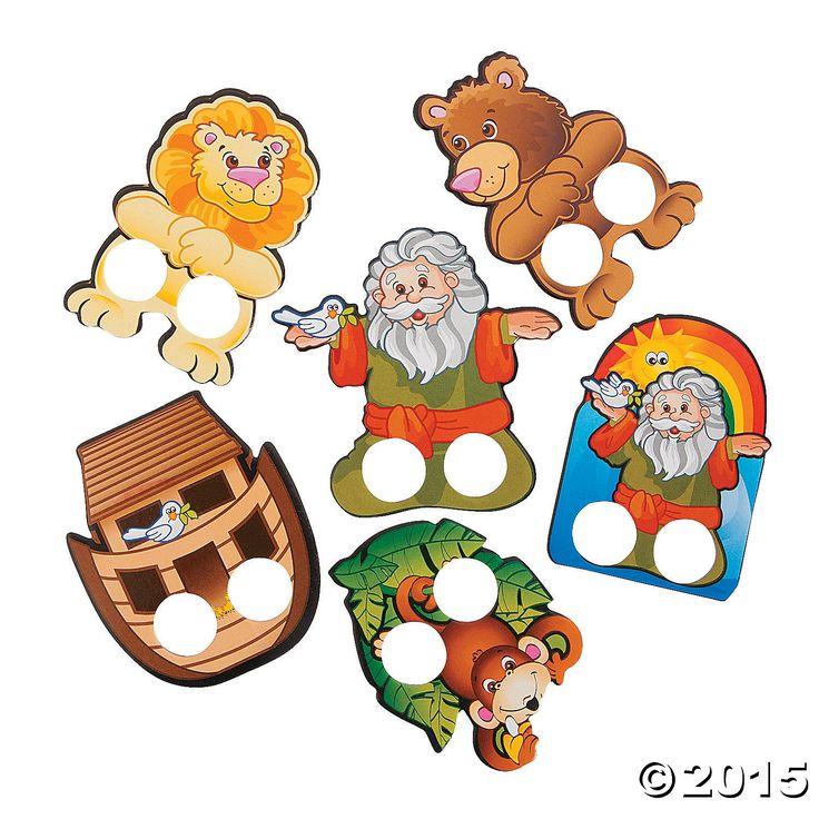 Noah's Ark Finger Puppets