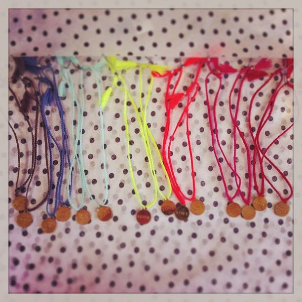 A Bracelet Rainbow- Our favourite type of rainbow Photo by bowandpearl http://bowandpearl.com/accessories/jewellery.html