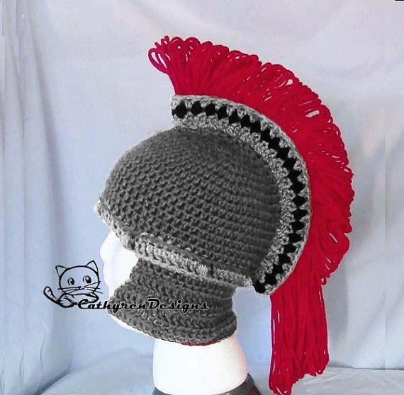 Helmet Pattern, Spartan Helmet, Trojan Helmet, INSTANT DOWNLOAD