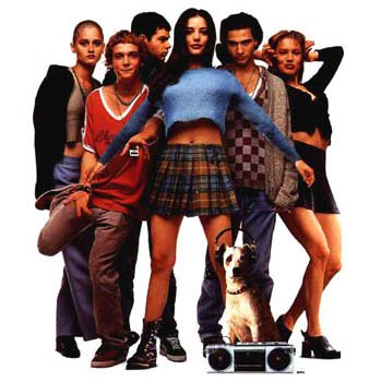 Empire Records ... one of the coolest movies ever. Was just talking about this last night.
