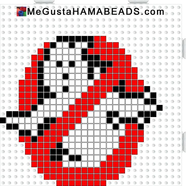 MeGustaHAMABEADS.com: Hama Beads Los Cazafantasmas o Ghostbusters                                                                                                                                                                                 Más