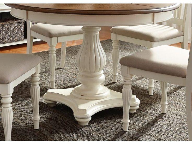 "Liberty Furniture Pedestal Table Base 334-P4860     27"""