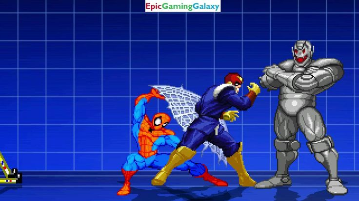 SpongeBob SquarePants And Ultron VS Captain Falcon And Spider-Man In A MUGEN Match / Battle / Fight This video showcases Gameplay of SpongeBob SquarePants And Ultron The Supervillain VS Captain Falcon From The F-Zero Series And Spider-Man The Superhero In A MUGEN Match / Battle / Fight