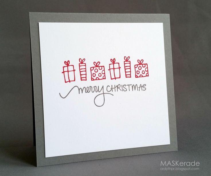 Zeit für Inspiration für die aktuelle Herausforderung am Festlichen Freitag …   – Handmade Christmas Cards