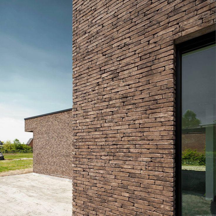 Brick architecture by Belgian architect Tom Lierman.