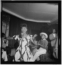 (Portrait of Josephine Premice, Village Vanguard, New York, N.Y., ca. July 1947) (LOC) (5436422514).jpg