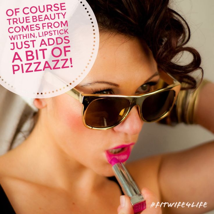 Of course true beauty comes from within, lipstick just adds a bit of pizzazz! #truebeauty #lipstick #pizzazz #bridalicious #fitwife4life @fitwife4life