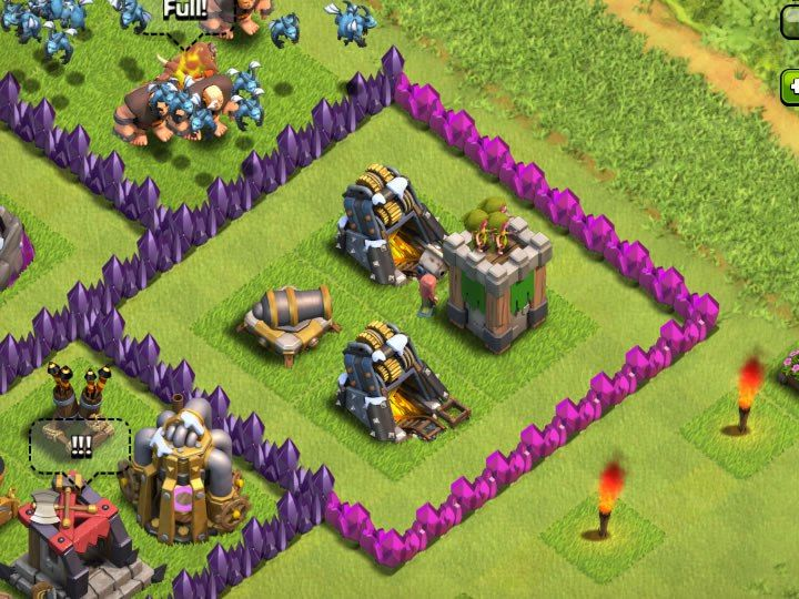 Upgrade Cannons Or Archer Towers