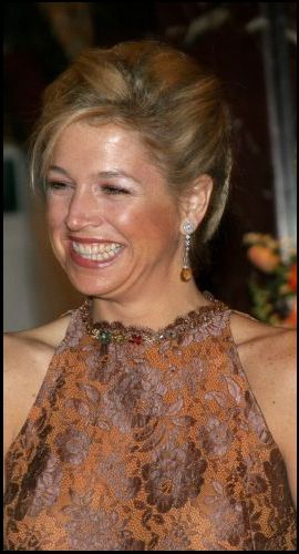 Queen Maxima..She's just amazing and lovely ♥