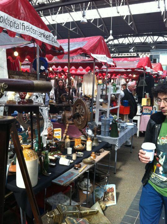 Old Spitalfields Market in Spitalfields, Greater London