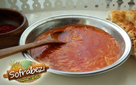 Domatesli Tel Şehriye Çorbası - Sofra Bezi | Yemek Tarifleri | Kek Tarifleri | Resimli Tarifler