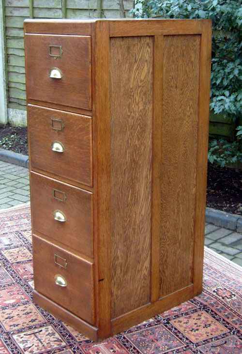 Vintage Wooden Cabinets ~ Best images about file cabinet on pinterest cupboards