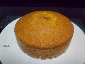 Bizcocho de zanahoria - Hoy os dejo la receta para preparar un estupendo bizcocho con zanahorias, muy fácil de preparar. Queda muy bueno con un bonito color anaranjado, una masa jugosa y húmeda por la zanahoria, es estupendo para un desayuno. También sirve de base para prepararlo con algún relleno, cubrirlo de... - https://www.lasrecetascocina.com/bizcocho-de-zanahoria/