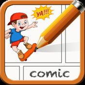 Comic Maker HD: Let's students be artistic without having to draw.  Insert characters, backgrounds, objects to create awesome comics.