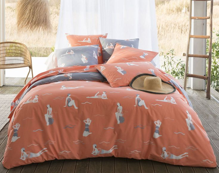 Linge de lit les baigneuses becquet création