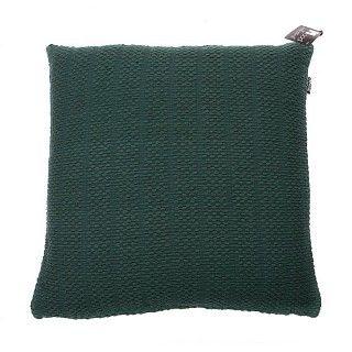 Kussen koffieboon. Voor op de grote grijze linnen plofbank. Een flinke berg mooie kussens. #intratuin