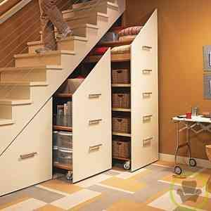 Modular debajo de escalera