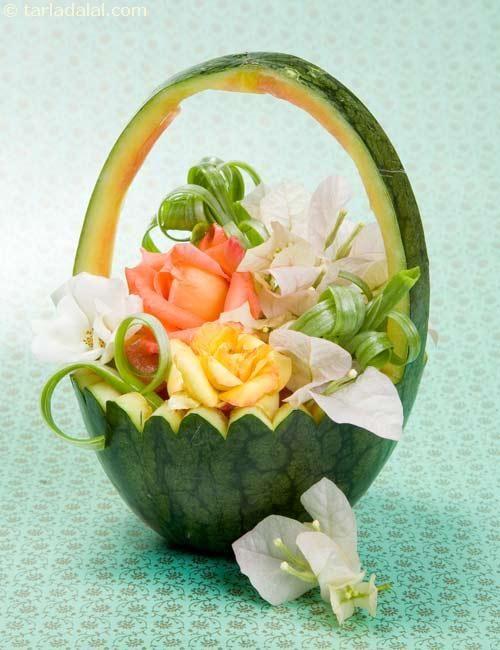 Best fruit basket watermelon ideas on pinterest baby