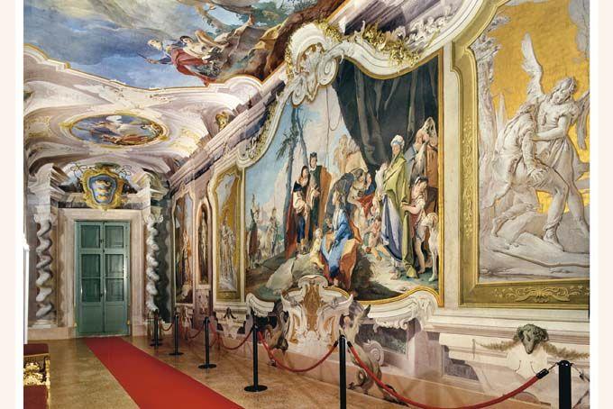 Le Gallerie del Tiepolo a Udine su Uau magazine, un luogo lontano dall'usura del tempo