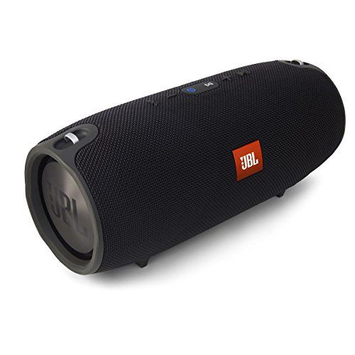 JBL Xtreme Portable Wireless Bluetooth Speaker (Black)Splashproof means no more worrying about rain or spills; you can even clean it with running tap water. Just don't submerge it. Take crystal clear calls from your speaker with the touch of a button thanks to the noise and echo cancelling speakerphone.Dual external passive radiators demonstrate just how powerful your speakers are check it out ..http://coolgadgetsgizmos.com/cool-gadgets-for-men/