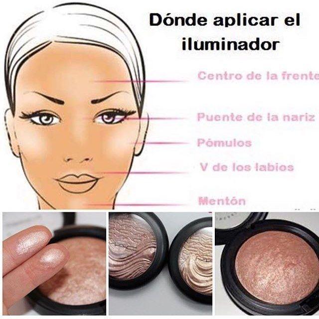 Importante Donde Aplicar El Iluminador De Nuestra Paleta De Contorno Chica Maquillaje Makeup Maquillaje Tutoriales De Maquillaje Contorno Paleta De Contorno Trucos Y Consejos De Maquillaje