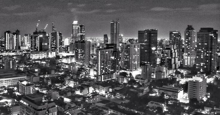 "18 Likes, 2 Comments - JJ_Cities (@jj_cities) on Instagram: ""Good Evening! Great black and white shot of Bangkok, Thailand; taken by @andreaturno 😲 Cool shot! .…"""