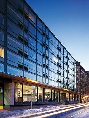 The Study at Yale - Blumcraft 250 Series doors - EFCO Glazing System & 23 best Storefront Glass \u0026 Doors images on Pinterest | Glass doors ... Pezcame.Com