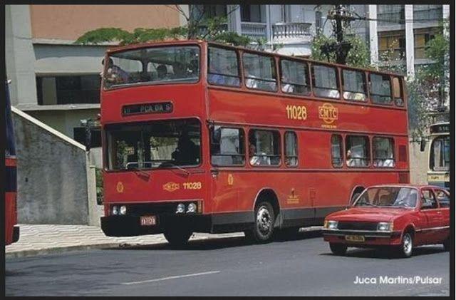 Saia Blusa Os Onibus Paulistanos 1978 1991 Onibus Urbano