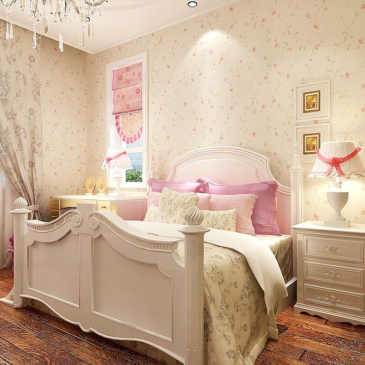 34.28$  Watch now - http://ali5o3.shopchina.info/go.php?t=32751705799 - Non-woven Wallpaper Roll Romantic Rustic Wallpapers for Bedroom Walls Living Room Background  Small Flower Wallpaper 10m*0.53m 34.28$ #buychinaproducts