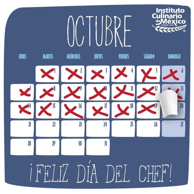 ¡Día del Chef! 20 de Octubre