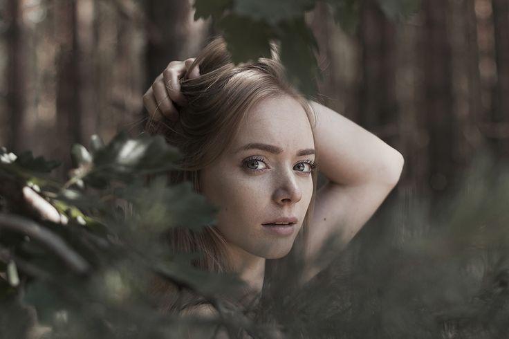 woman's portrait photography