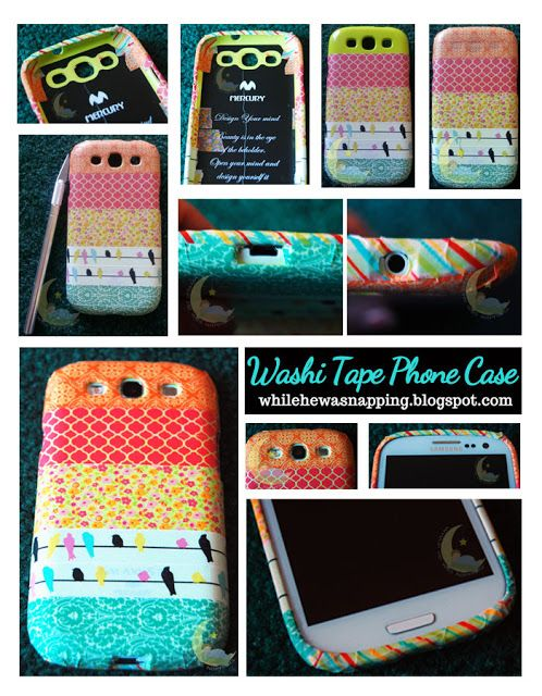 74 best images about diy phone cases on pinterest diy for Washi tape phone case