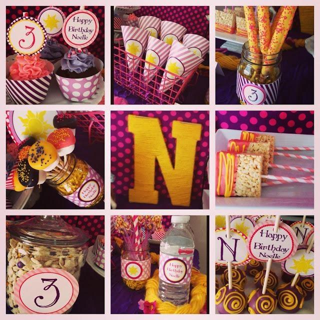 Tangled Birthday Party « Bella Paris Designs