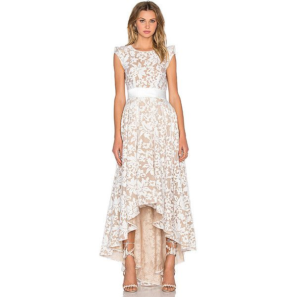Bronx and Banco Boheme Gown Dresses featuring polyvore, fashion, clothing, dresses, gowns, bohemian gowns, boho chic dresses, boho style dresses, bohemian evening gowns and structured dress
