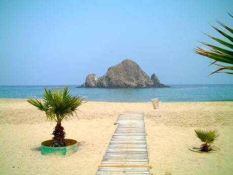 Fujairah, wonderful beaches, fabulous scuba diving and snorkeling, great backdrop with the mountains