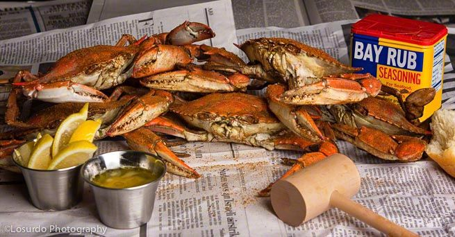 Steamed Blue Crabs From Crab Feast Mania: A Cookbook for ...