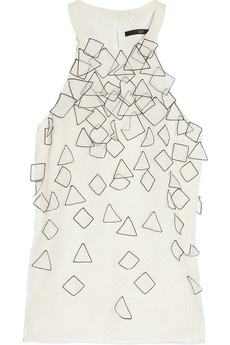 Tibi gets hipster with geometry.