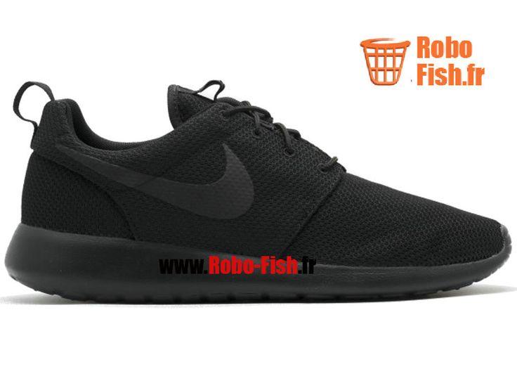 Nike Roshe One - Chaussure Nike Running Pas Cher Pour Homme Noir 511881-026
