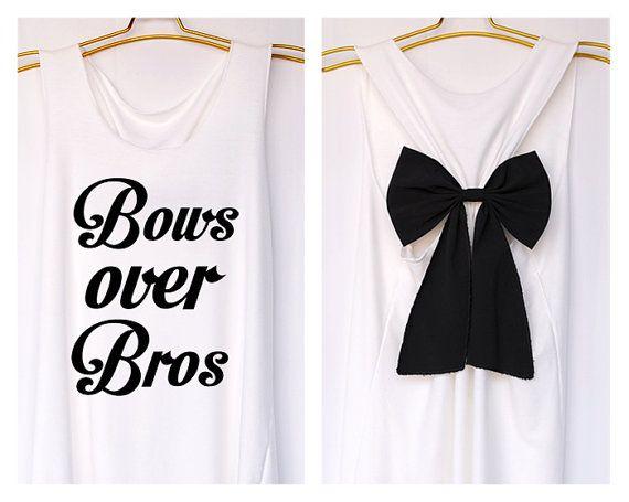 Arcs sur réservoir Bros Premium avec Bow  par DollysBow sur Etsy