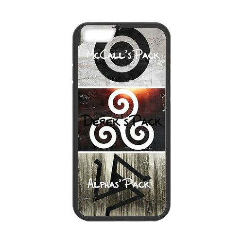 Teen Wolf Symbols Case for iPhone 6