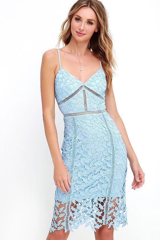 17 migliori idee su Light Blue Cocktail Dress su Pinterest | Elie saab