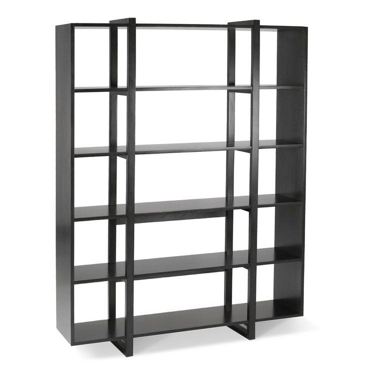 Willo San Francisco Onni Bookcase Morel Morel Brown Black Bookcase Bookshelves Metal