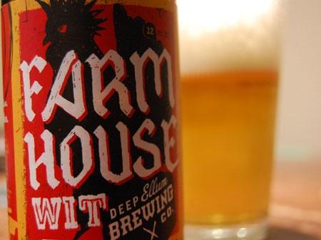 Intoxico! Farm House Wit by Deep Ellum Brewery.