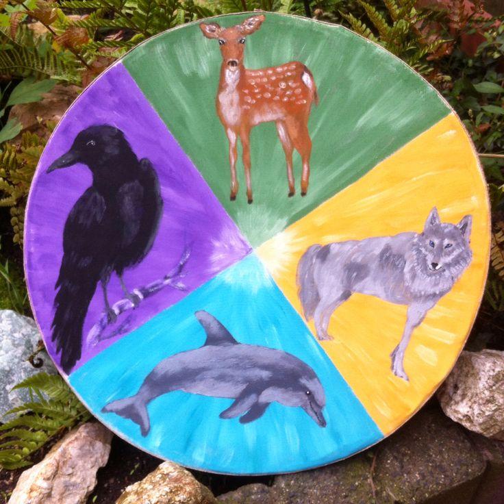 oceandrum totem animals made by Marleen Boersma