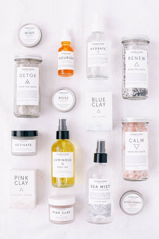 Herbivore Botanicals has some gorgeous packaging and lovely natural beauty products! #NiaBeauty