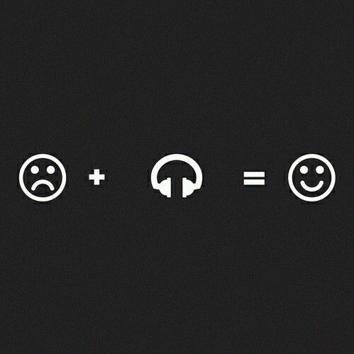 Turn that frown upside down! // music // headphones