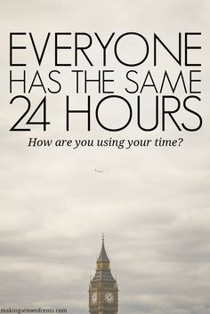 A great  reminder of the importance of time management, productivity and getting things done.  Your time matters.  Make the most of it.