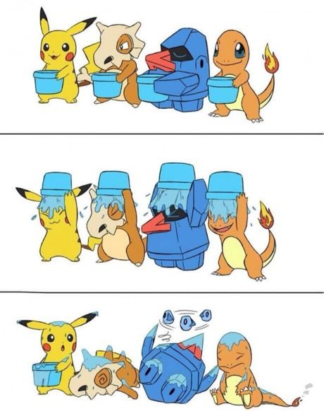 Pokemon ice bucket challenge