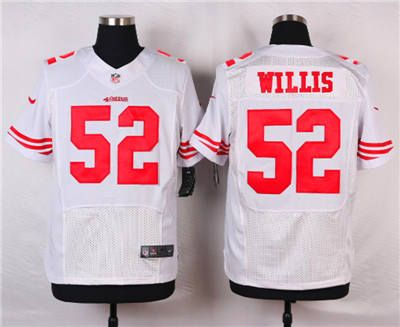 nike san francisco 49ers 52 patrick willis black with camo elite jersey