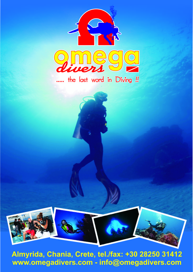 Scuba Diving in Greece. Omega Divers in Chania Crete. #chania #crete #dreamingreece #scuba #diving #wateractivities #watersports #holidays #travel  #scubadiving #greece